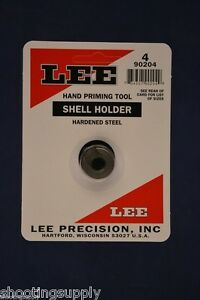 LEE Hand Priming Tool Shell Holder #4 New in Package #90204