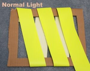 Yellow Fire Retardant Resistant Reflective Tape Sew On