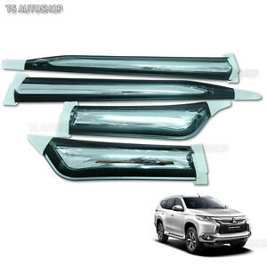 Side Body Dr Molding Fitt Chrome Cover For Mitsubishi Montero Pajero Sport 2017
