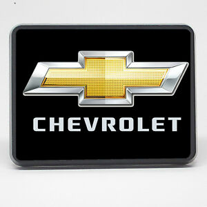 Chevrolet Bowtie Tow Cover 2 Inch 2 Trailer Hitch Cover Plug Tow Hitch Cover
