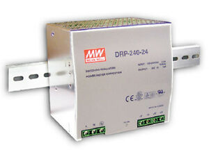 Mean Well Drp 240 48 Ac To Dc Din rail Power Supply 48volt 5a 240w Us Authorized