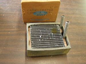 Nos Oem Ford 1966 Fairlane Comet Heater Core For Cars With Air Conditioning