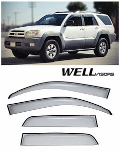 For 12 Up Toyota Yaris Hatchback Wellvisors Side Window Visors Premium Series