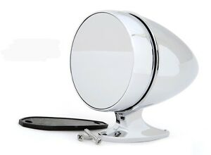 New Ford Mustang Shelby Bullet Style Chrome Mirror Gt350 Cobra Tiger Gt500