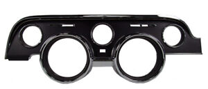 New 1968 Mustang Dash Bezel Cluster Black Standard Interior Camera Case Finish