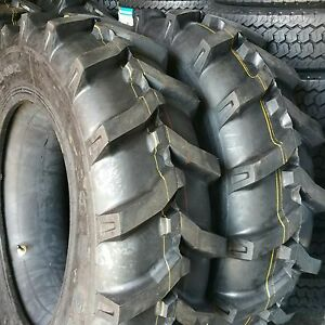 2 tires 13 6x28 13 6 28 10 Ply Tractor Tires W tubes 13628 Free Shipping