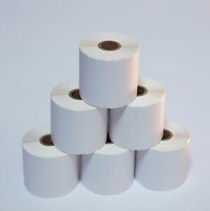 6 Rolls 3x1 Direct Thermal Shipping Labels 1375 roll Zebra Lp2844