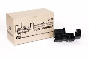 Fuse Holder 30 Amp Information On Purchasing New And