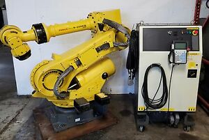 Fanuc R 2000ib 210f Complete Robot System W Rj3ic R30ia Controller Low Hours