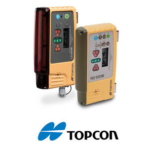 Topcon Ls b10w Rd 100w Bluetooth Wireless Mag Mounted Laser Receiver Combo