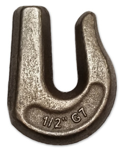 4 1 2 Weld On Grab Hooks G70 Transport Chain Flatbed Truck Trailer Tie Down
