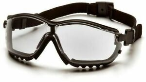 Pyramex V2g Safety Goggles Glasses Ms97220 Clear Lens 12 Pieces