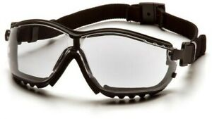 Pyramex V2g Safety Goggles Glasses Ms97220 Clear Lens 12 box