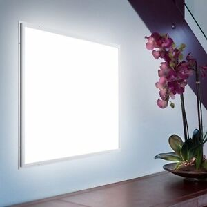 2x2 Led Ceiling Panel Light Ul dlc Approved 100lm w Dimmable Whte Color Frame
