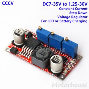 Dc Buck Step Down Regulator Constant Voltage Current 5v 12v 24v Battery Charger