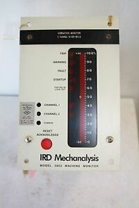 Ird Mechanalysis 5802 Vibration Monitor