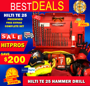 Hilti Te 25 L k Made In Germany Preowned Free Extras Fast Shipping