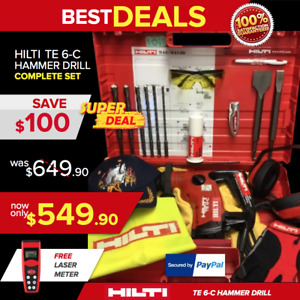 Hilti Te 6 c L k Preowned Free Extras Made In Germany Durable Fast Ship