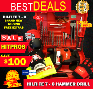 Hilti Te 7 c Hammer Drill L k Brand New Strong Free Extras Fast Shipping