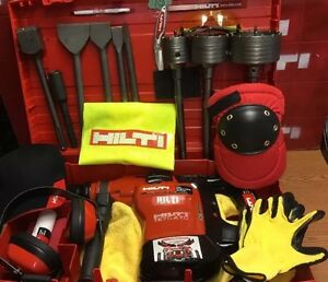 Hilti Te 76p Atc Nice Condition Electricians Plumbers Contractors Fast Ship