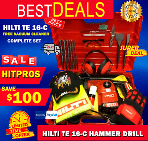 Hilti Te 16 c L k Complete Loaded W Free Extras Germany Fast Shipping