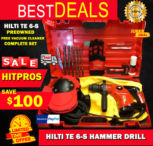 Hilti Te 6 s L k Preowned Original Strong Extras Fast Shipping
