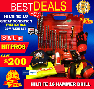 Hilti Te 16 L k Great Condition Made In Germany Free Extras Fast Shipping