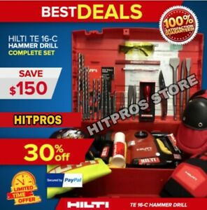 Hilti Te 16 c L k Great Condition Free Extras Made In Germany Fast Ship