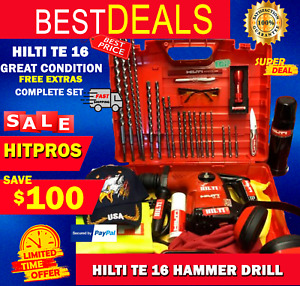 Hilti Te 16 L k Great Condition Preowned Free Extras Fast Ship