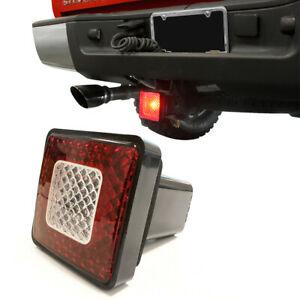 80 Led Brake Driving Reverse Light Lamp Trailer Towing Hitch Cover 2 Receiver