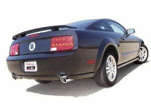 Borla 2005 2009 Ford Mustang Gt 4 6l V8 Gt500 2 5 Axle Back Exhaust System Ss