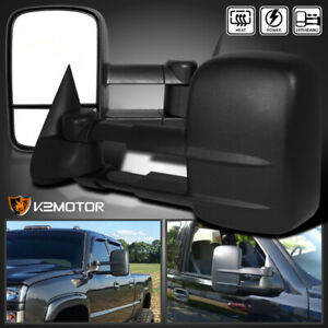 2003 2006 Chevy Silverado Gmc Sierra Power heated Towing Side Mirrors Left right