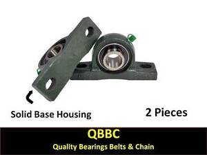 qty 2 Ucak211 32 Yak 2 Low Profile Pillow Block Mounted Bearing Unit