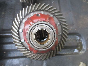 1953 Allis Chalmers Wd45 Gas Tractor Differential Ring Gear Assembly Free Ship