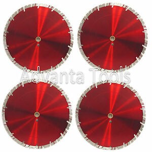 4pk 14 Diamond Saw Blade For Block Concrete Paver Brick Refractory Brick 15mm
