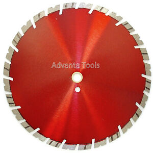 12 Diamond Saw Blade For Hard Concrete Pavers Refractory Brick Block 15mm