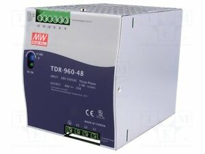 Mean Well Tdr 960 48 Ac dc Power Supply Single out 48v 20a 960w Us Authorized