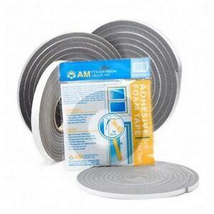 24 Qty Am Conservation Group Closed Cell Foam Tape Weatherstripping Reta v443h