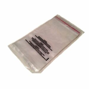 1000 9 X 12 Clear 1 5 Mil Self Seal Poly Bags With Suffocation Warning Fba