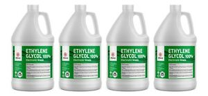 Ethylene Glycol Electronic Grade 4 Gallon Bottles Per Case Lab Chemical Supply
