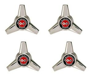 New Ford Mustang Magnum 500 Spinner Hub Caps Wheel Centers Set Of 4 Knock Off