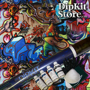 Hydrographics Dip Kit Activator Water Transfer Print Graffiti Hydro Dip Ll 505