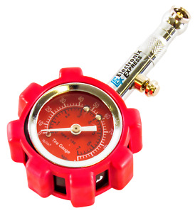 High Precision Tire Pressure Gauge Up To 100 Psi With Rugged Housing Portable