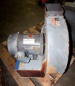 Dayton 4c330 13 1 2 Blower Fan W Dayton Motor 3kx03 5 Hp xlnt