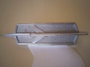 1966 66 Oldsmobile Cutlass Rocket Trunk Emblem Oem Pt 4550379