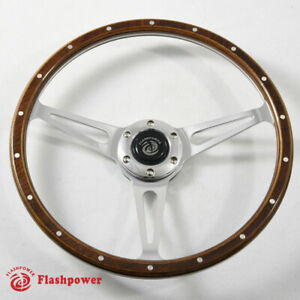 15 Classic Wood Steering Wheel Restoration Vintage Ford Mustang Shelby Ac Cobr