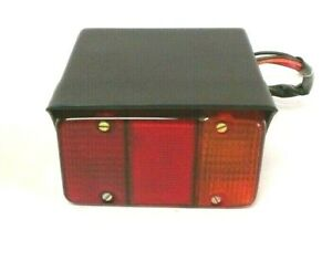 Mahindra Tractor Rear 3 In 1 Parking Signal Lamp With Housing R h 9236