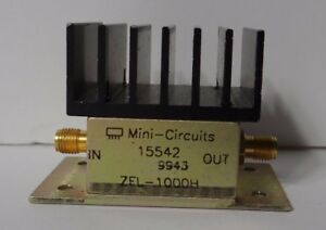 Mini circuits Zfl 1000h Amplifier 10 1000 Mhz