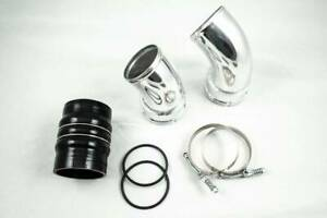 Cold Side Intercooler Pipe And Boot Kit 06 10 Gmc Chevy 6 6 Duramax Lbz Lmm 6 6l