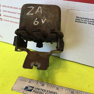 Minneapolis moline Za Voltage Regulator 6 Volt Used And Rusty Item 4505